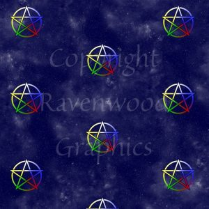 Pentacle Gift Wrap