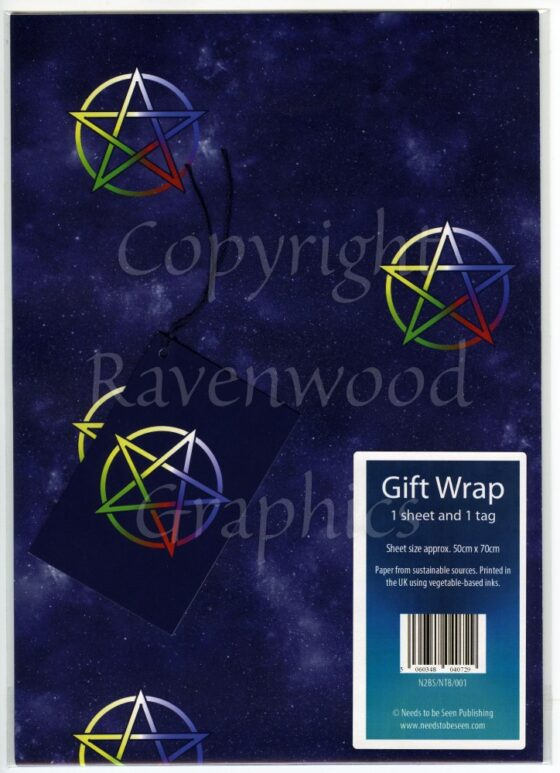 Pentacle Gift Wrap