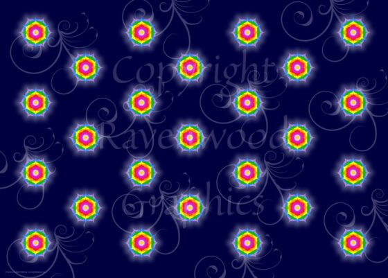 Mandala Gift Wrap