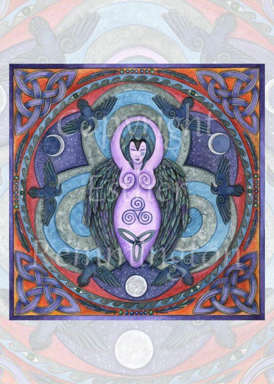 Morrighan Mandala