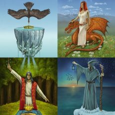 Cards from The Celtic Tarot