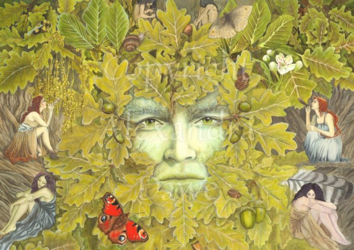 Green Man of Spring