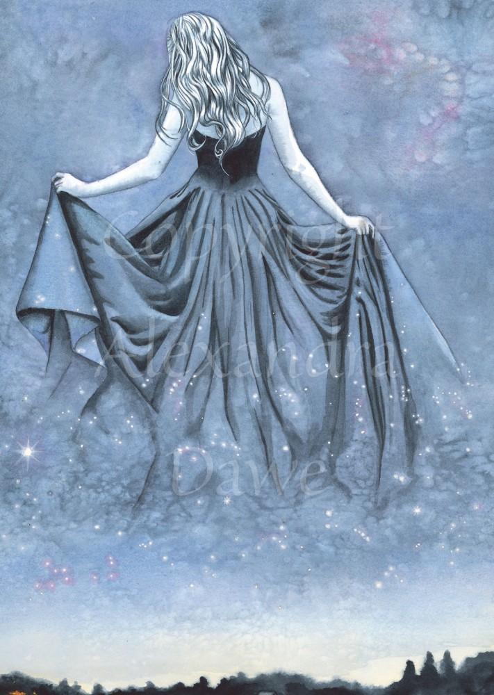 Night, and Her Train of Stars