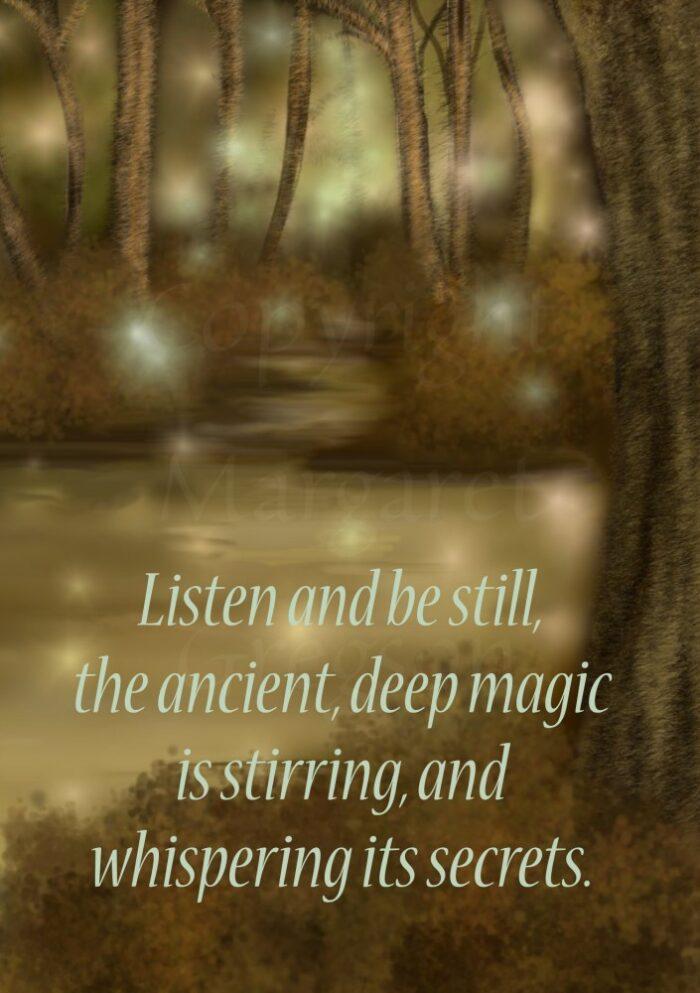 Listen And Be Still