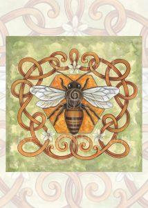 Honey Bee Print