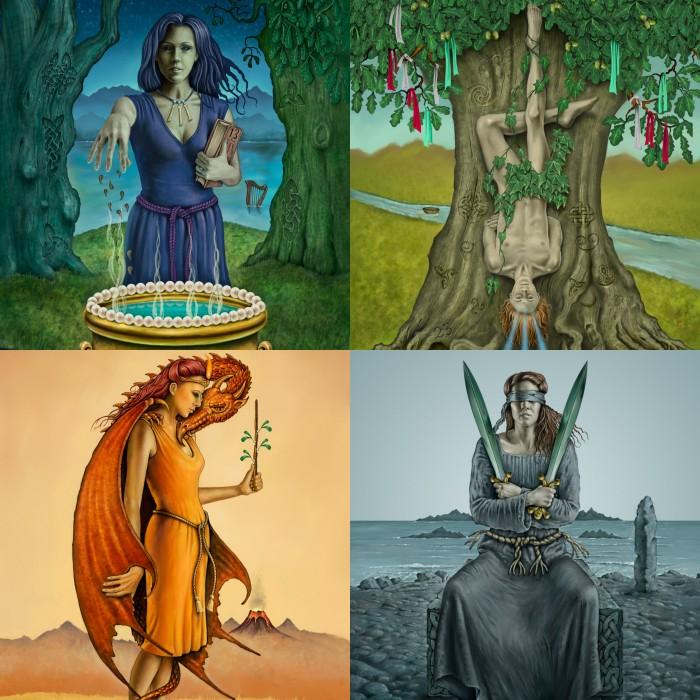 Art Prints from The Celtic Tarot