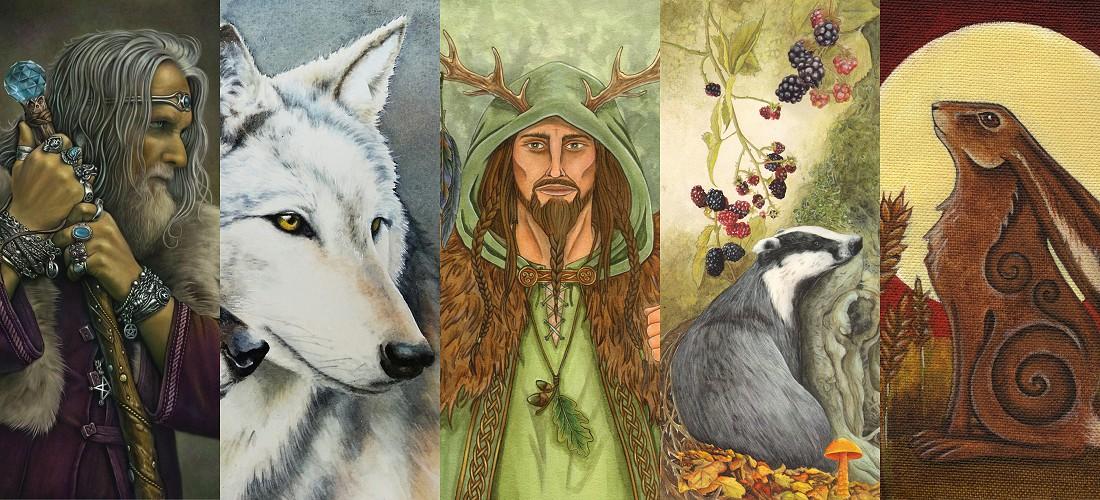 Wholesale Pagan/spiritual cards